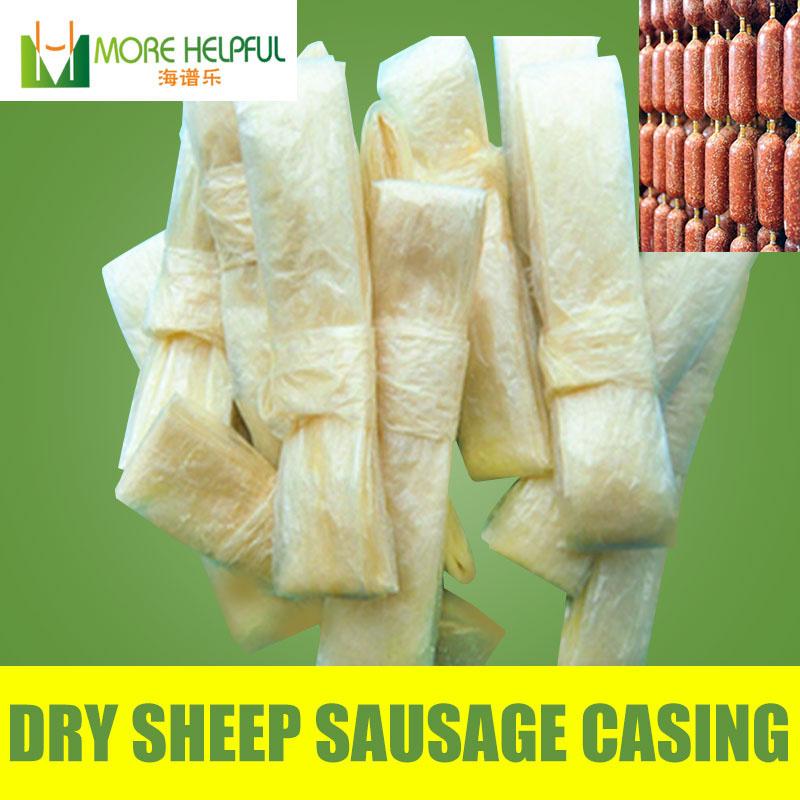 26 meter total Dry sheep casing 10pc/bag Diameter 18mm-20mm natural sheep Sausage cover,Sausage skin, free shipping