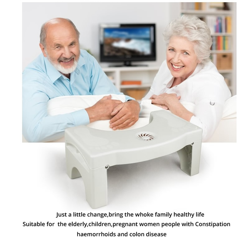 328 Promotion Health Care Squatty Step Stool Bathroom Potty Squat Toilet Assistant Footseat toilet stool foot stool