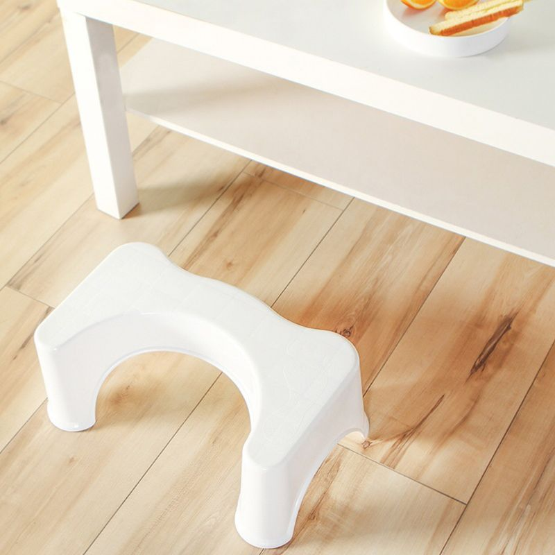 39x22.5x17cm U-Shaped Squatting Toilet Stool Non-Slip Pad Bathroom Helper Assistant Footseat Relieves Constipation Piles