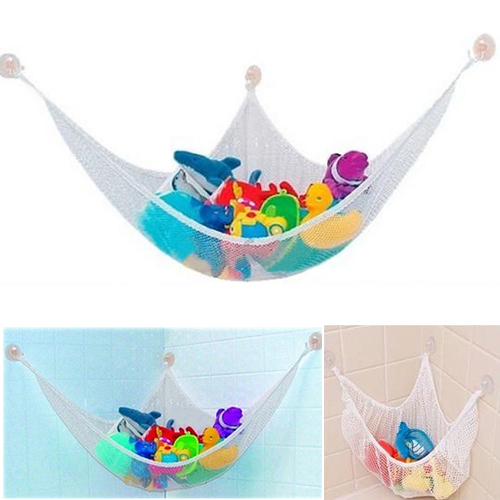 Drop Shipping New Hanging Toy Hammock Net to Organize Stuffed Animals Dolls For Home Room Storage Bathroom Storage Products
