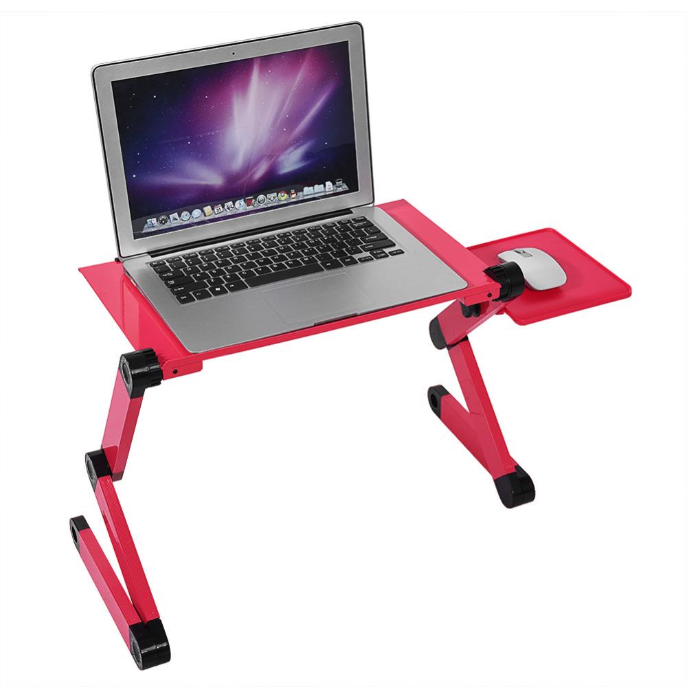Portable Laptop Desk Table Adjustable Standing Desk Computer Notebook Bed Office Mesa Notebook Desks